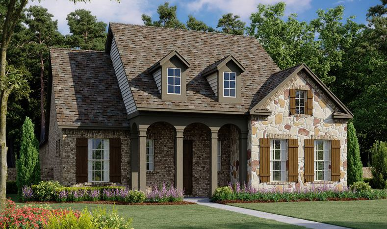 Ashton Woods Montgomery Ridge subdivision 1018 Mockingbird Lane Allen TX 75013