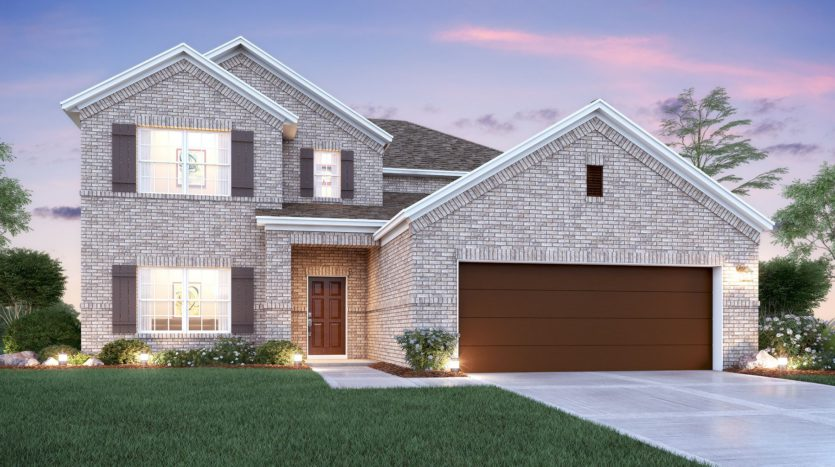 M/I Homes Chapel Trails subdivision 1516 Walnut Creek Drive McKinney TX 75071