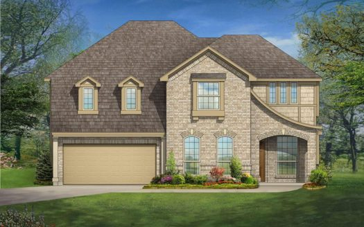 Bloomfield Homes Willow Wood subdivision 1212 Putman Drive McKinney TX 75071