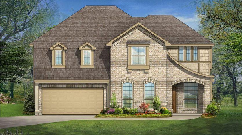 Bloomfield Homes Springview Estates subdivision 700 Sahallee Drive Frisco TX 75033