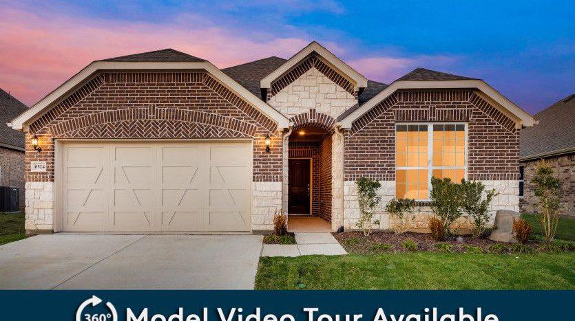 Pulte Homes North Creek subdivision 4205 Milrany Lane Melissa TX 75454