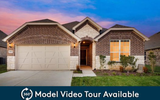 Pulte Homes Somerset subdivision 3200 Woodford Drive Mansfield TX 76084