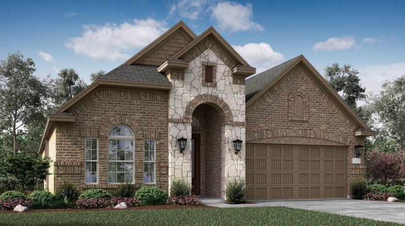 Village Builders Bradford Park 50' subdivision 5554 Autumn Winds Court Flower Mound TX 75028