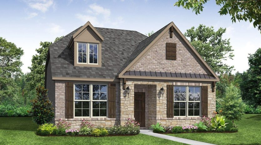 Beazer Homes Valencia on the Lake - Arbors 40s subdivision 2140 Barx Drive Little Elm TX 75068