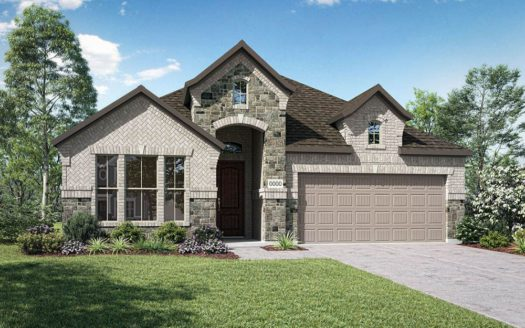 Trendmaker Homes Discovery Collection 50' at Gateway Parks subdivision 1256 Caprock Drive Forney TX 75126