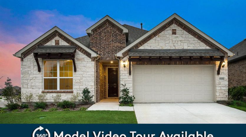 Pulte Homes North Creek subdivision 4205 Milrany Lane Melissa TX 75454