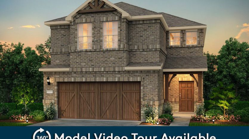 Pulte Homes Legends Crossing subdivision 268 Lee Roy Jordan Street Irving TX 75063