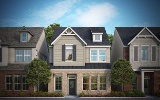 David Weekley Homes Parkside at Trinity Green - Cottages subdivision 1193 Tea Olive Lane Dallas TX 75212
