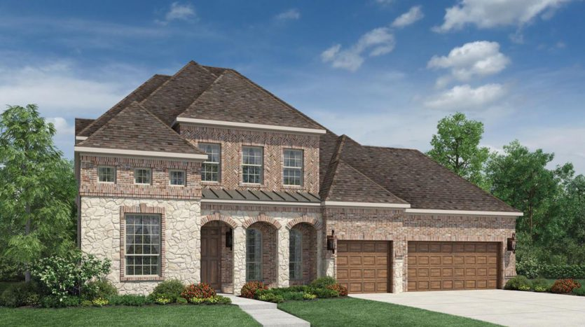 Toll Brothers Lexington Country - The Executives subdivision 13129 Secretariat Boulevard Frisco TX 75035