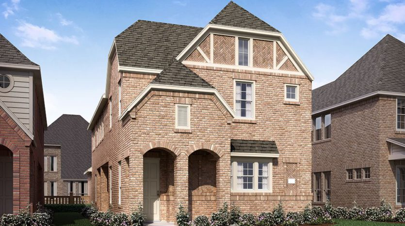 Normandy Homes Edgewood subdivision 12800 Shepherds Hill Lane Frisco TX 75035