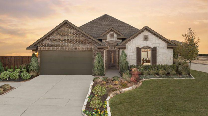 Trendmaker Homes Lakeside Estates at Paloma Creek subdivision 612 Lake Cove Drive Little Elm TX 75068