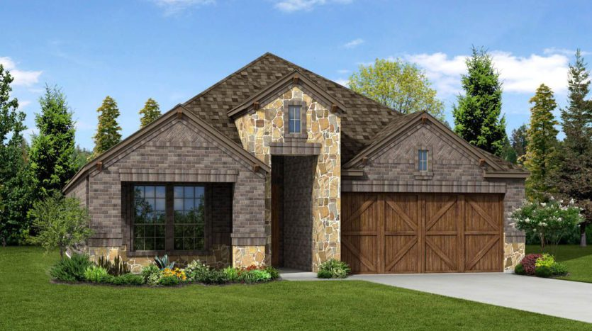 Trendmaker Homes Valencia on the Lake subdivision 13508 Cortes De Pallas Drive Little Elm TX 75068
