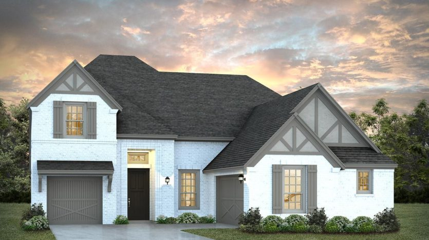 Normandy Homes Estates at Shaddock Park subdivision 14345 Regents Park Frisco TX 75035