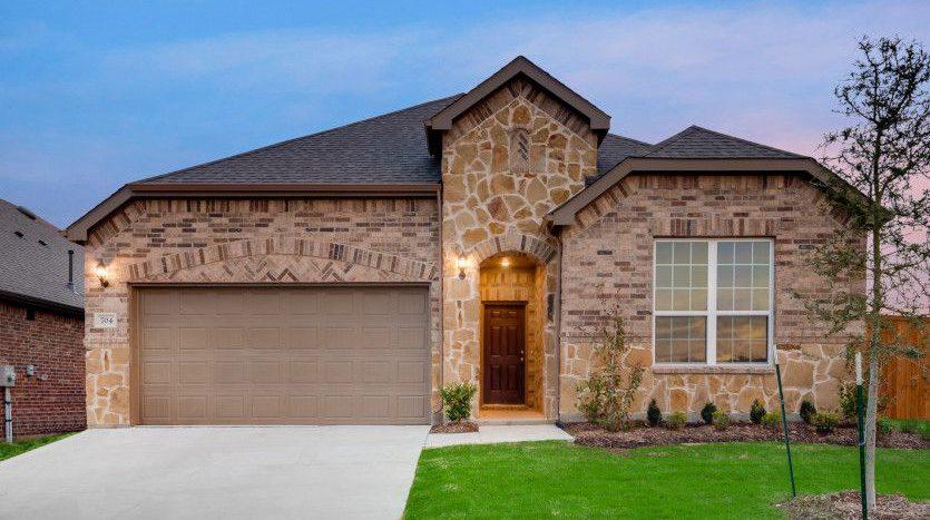 Pulte Homes Anna Town Square subdivision 605 Warner Drive Anna TX 75409
