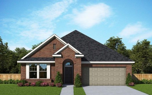 David Weekley Homes Prairie Oaks subdivision 3720 Trail Creek Drive Little Elm TX 75068