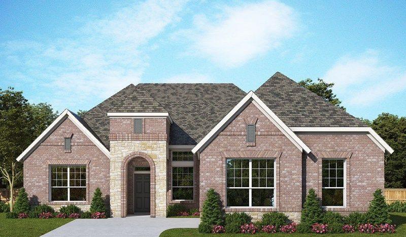 David Weekley Homes Concordia subdivision 425 Harmony Way Keller TX 76248