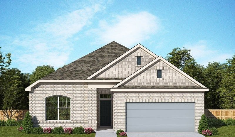 David Weekley Homes Mustang Lakes - Classic Series subdivision 2620 Maverick Way Celina TX 75009