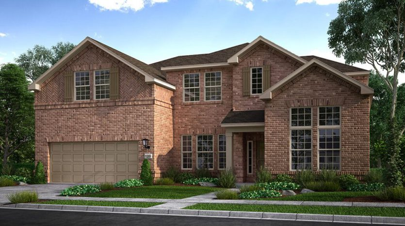 Taylor Morrison Overland Grove subdivision 1112 Garden Grove Forney TX 75126