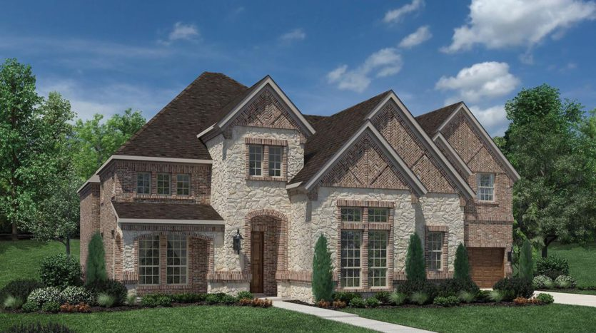Toll Brothers Oakbridge at Flower Mound subdivision 2216 Willa Brown Court Flower Mound TX 75028
