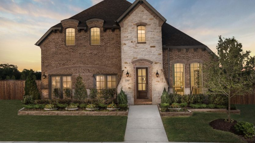 American Legend Homes The Grove Frisco - 55s subdivision 15397 Viburnum Road Frisco TX 75035