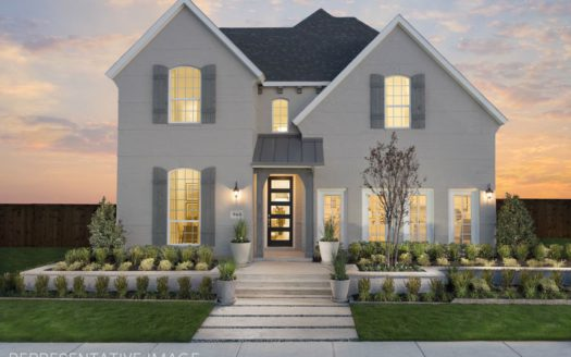 American Legend Homes The Tribute - Westbury 50s subdivision 8408 Wembley The Colony TX 75056