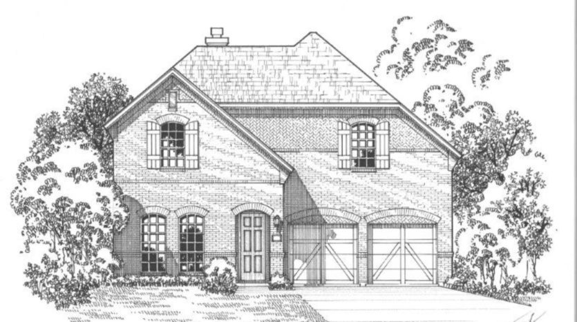 American Legend Homes South Haven subdivision 1346 Bluegill Bay Road Coppell TX 75019