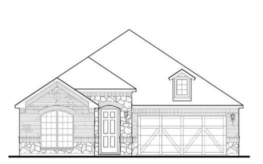 American Legend Homes Lilyana - 50s subdivision 1705 Snowdrop Drive Prosper TX 75078