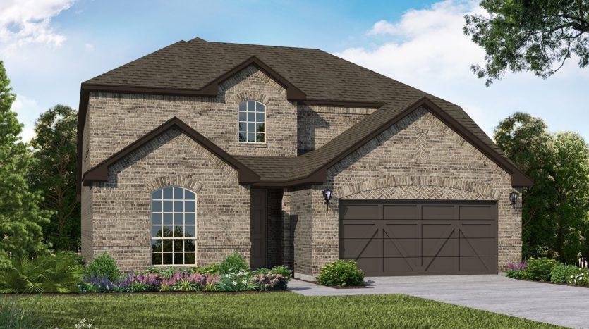 American Legend Homes Union Park - 50s subdivision 5104 Union Park Blvd. Aubrey TX 76227