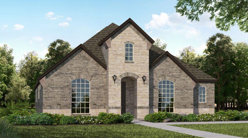 American Legend Homes Prairie View - 55s subdivision 13607 Fieldcrest Road Frisco TX 75035