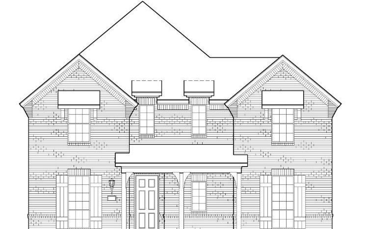 American Legend Homes Prairie View - 55s subdivision 12397 Lost Valley Drive Frisco TX 75035