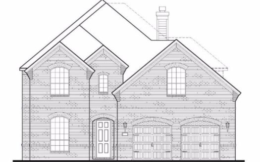 American Legend Homes Windsong Ranch - 61s subdivision 4471 Acacia Pkway Prosper TX 75078