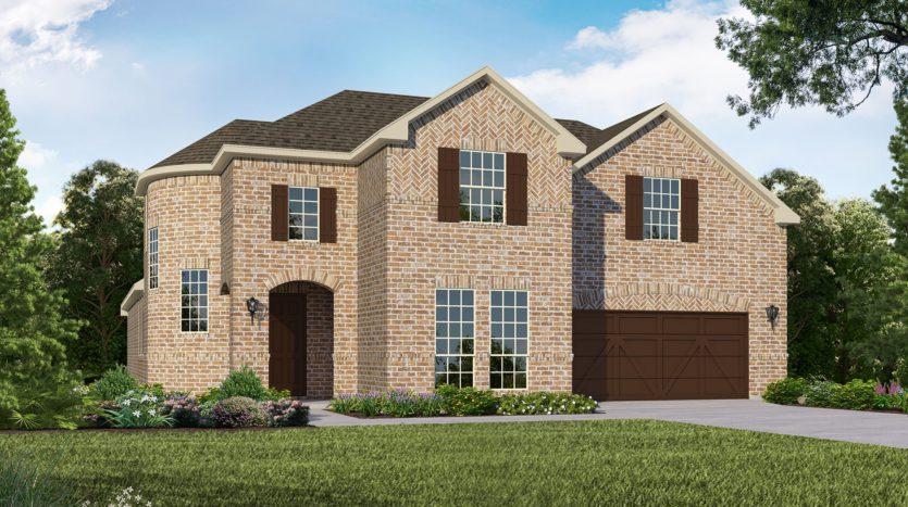 American Legend Homes Union Park - 60s subdivision 5104 Union Park Blvd. Aubrey TX 76227
