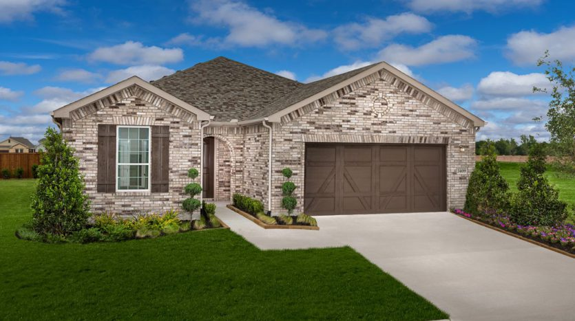 KB Home Creeks of Legacy subdivision 3409 Keechi Creek Dr. Prosper TX 75078