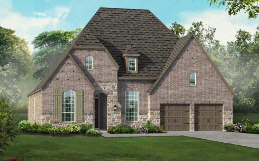Highland Homes Canyon Falls: 70ft. lots subdivision 6500 Dolan Falls Drive Argyle TX 76226