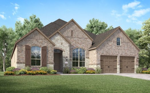 Highland Homes Canyon Falls subdivision 6384 Prairie Brush Trail Argyle TX 76226