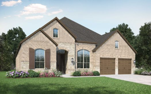 Highland Homes Canyon Falls subdivision 208 Big Sky Circle Northlake TX 76226