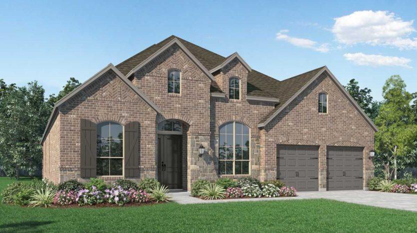 Highland Homes Mustang Lakes: 60ft. lots subdivision 2623 Maverick Way Celina TX 75009