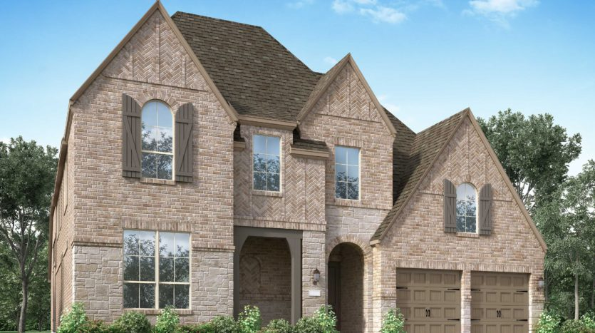 Highland Homes Lantana: Barrington - 60ft. lots subdivision 9304 Pecan Woods Trail Lantana TX 76226
