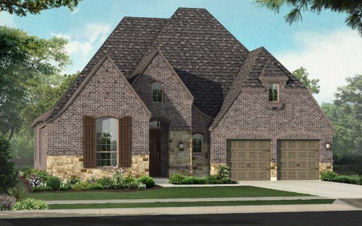 Highland Homes Canyon Falls subdivision 208 Big Sky Circle Northlake TX 76226
