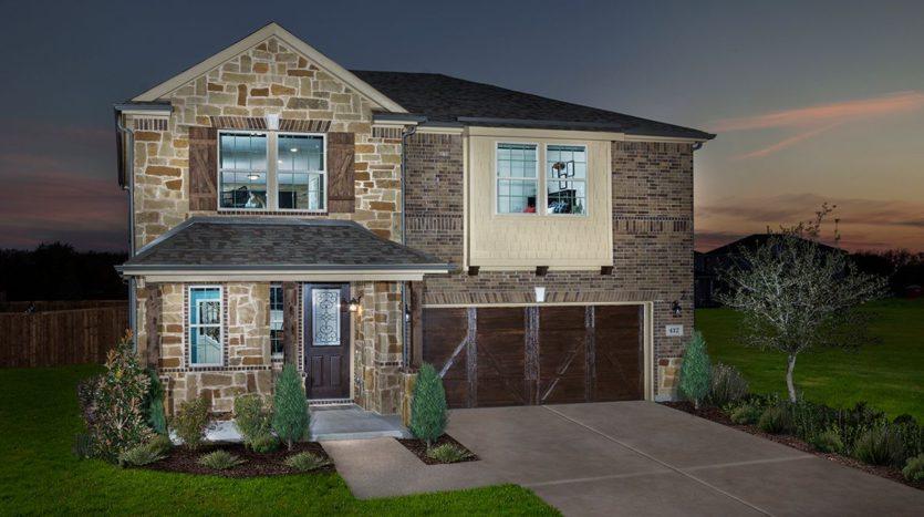 KB Home St. Andrews Park subdivision 414 Front Nine Ave. Allen TX 75002