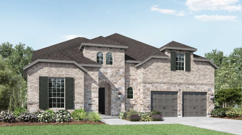 Highland Homes Canyon Falls subdivision 6384 Prairie Brush Trail Argyle TX 76226