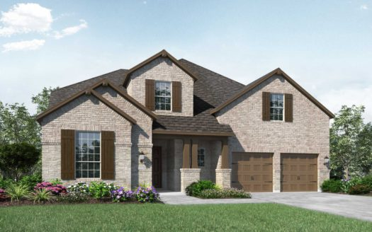 Highland Homes Lakewood at Brookhollow subdivision 2981 Meadow Dell Drive Prosper TX 75078