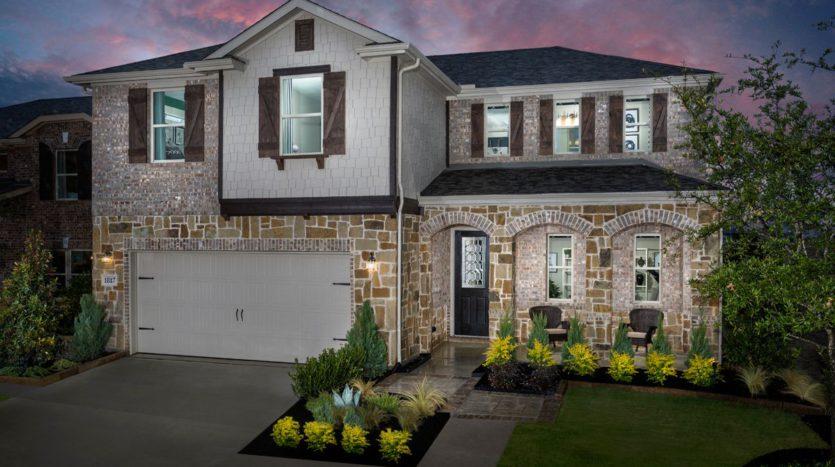 KB Home Winn Ridge subdivision 1809 Aslynn Cir. Aubrey TX 76227