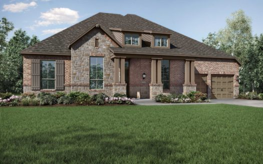 Highland Homes Trinity Falls: 70ft. lots subdivision 8521 Autumn Lake Trail McKinney TX 75071