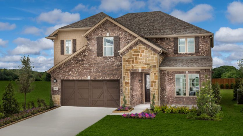 KB Home Creeks of Legacy subdivision 3409 Keechi Creek Dr. Prosper TX 75078