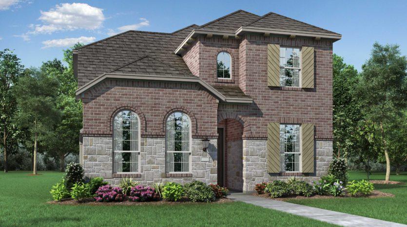 Highland Homes Viridian: 40ft. lots subdivision 1511 Silver Marten Trail Arlington TX 76005