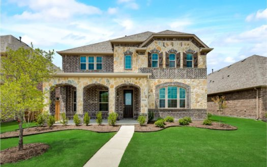 KB Home Retreat at Stonebriar subdivision 9950 Gristmill Ln. Frisco TX 75035