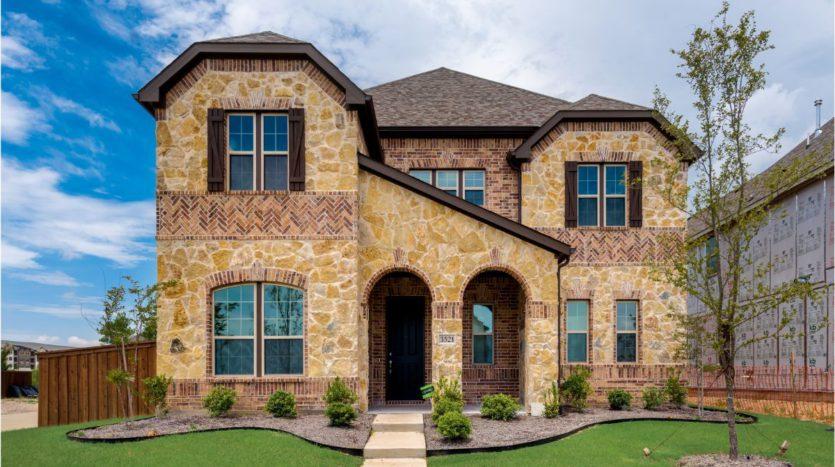 KB Home Retreat at Stonebriar subdivision 3521 Furrow Rd. Frisco TX 75035