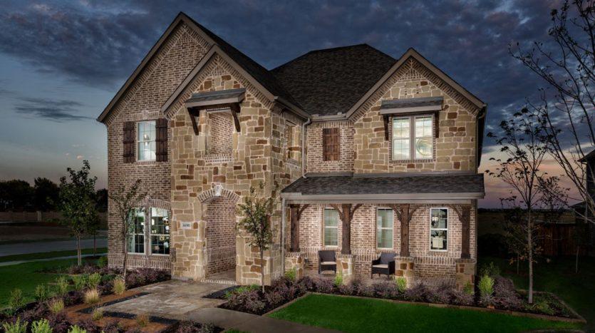 KB Home Retreat at Stonebriar subdivision 3638 Darcy Ln. Frisco TX 75035