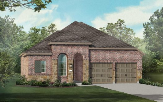Highland Homes Lantana: Barrington - 50ft. lots subdivision 9312 Terrel Street Lantana TX 76226